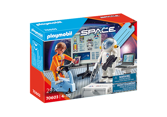 Playmobil 70603 - Gift set Astronaut Training - Box