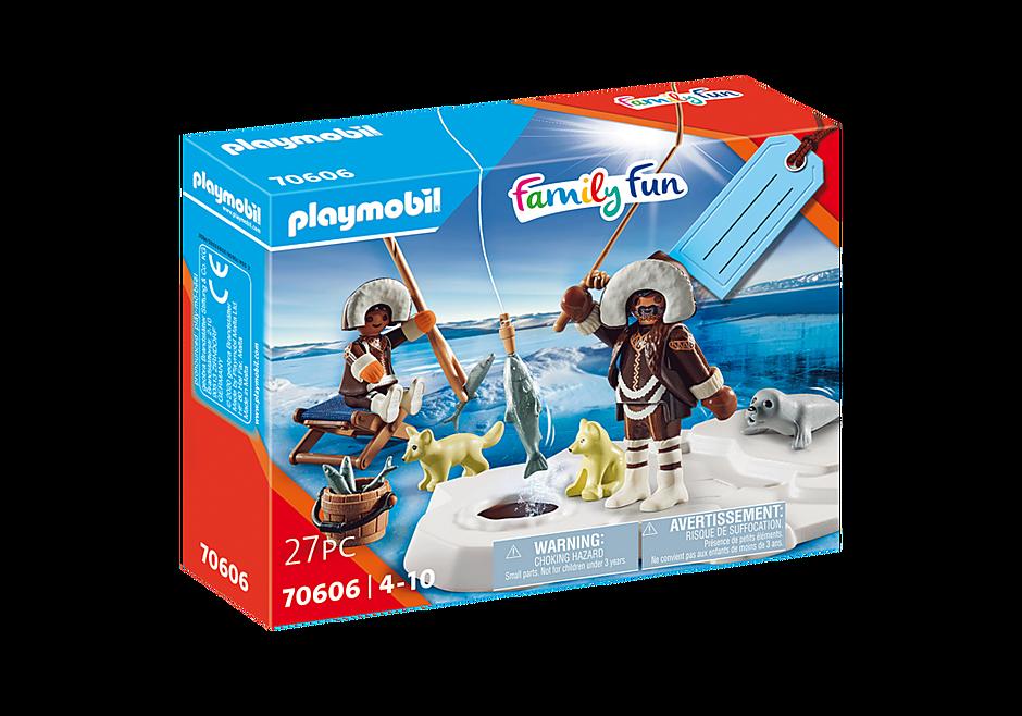 Playmobil 70606 - Gift set Inuit ice fishing - Box