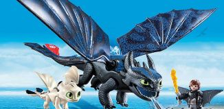 Playmobil - 70037 - Hiccup and Toothless Playset