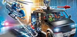 Playmobil - 70575 - Helicopter after fleeing vehicle