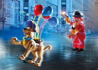 Playmobil - 70710 - SCOOBY-DOO! Adventure with Ghost Clown