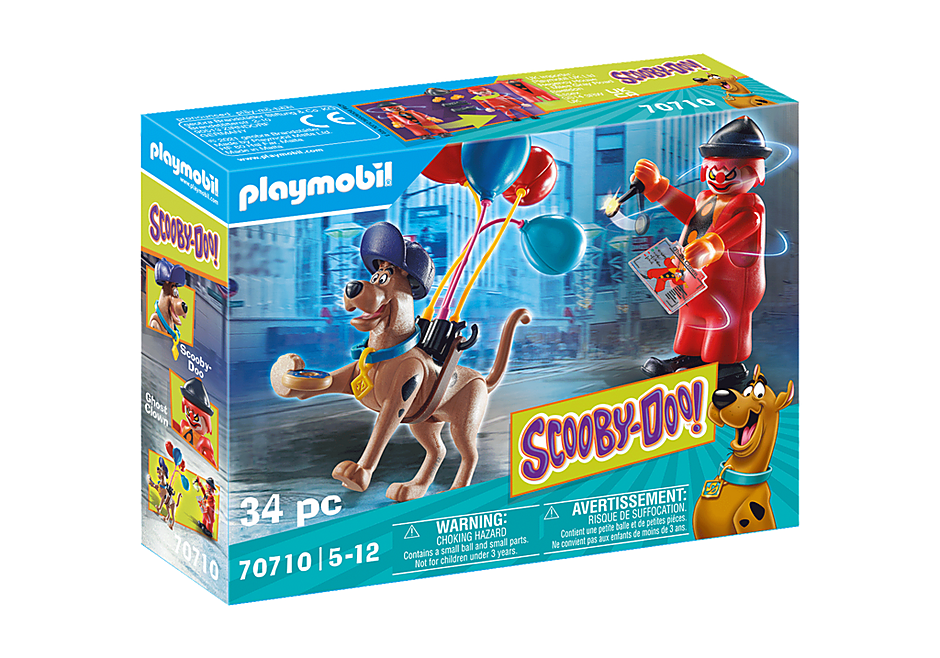 Playmobil 70710 - SCOOBY-DOO! Adventure with Ghost Clown - Box