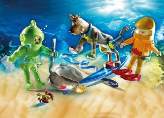 Playmobil - 70708 - SCOOBY-DOO! Adventure with Ghost of Captain Cutler