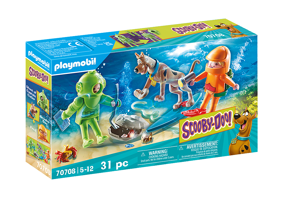 Playmobil 70708 - SCOOBY-DOO! Adventure with Ghost of Captain Cutler - Box