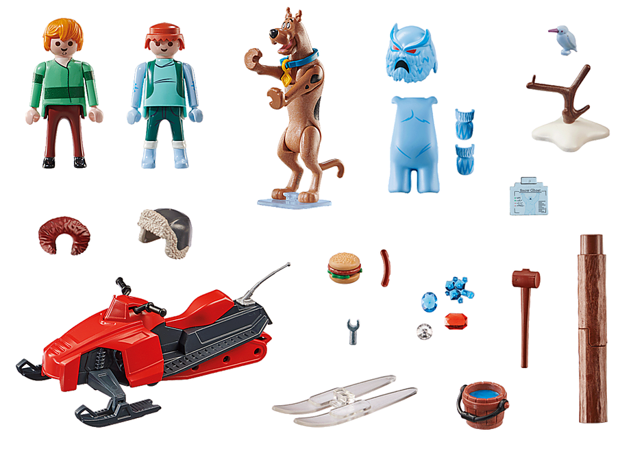 Playmobil 70706 - SCOOBY-DOO! Adventure with Snow Ghost - Back
