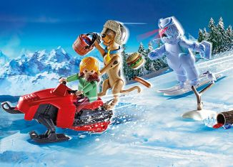 Playmobil - 70706 - SCOOBY-DOO! Adventure with Snow Ghost
