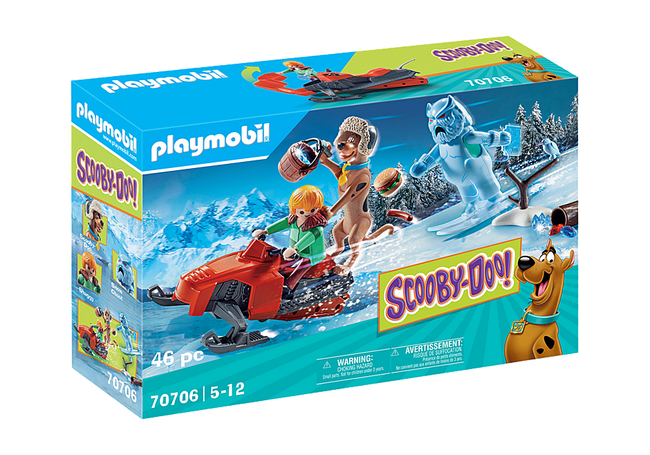 Playmobil 70706 - SCOOBY-DOO! Adventure with Snow Ghost - Box