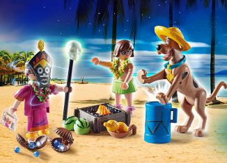 Playmobil - 70707 - SCOOBY-DOO! Adventure with the Witch Doctor