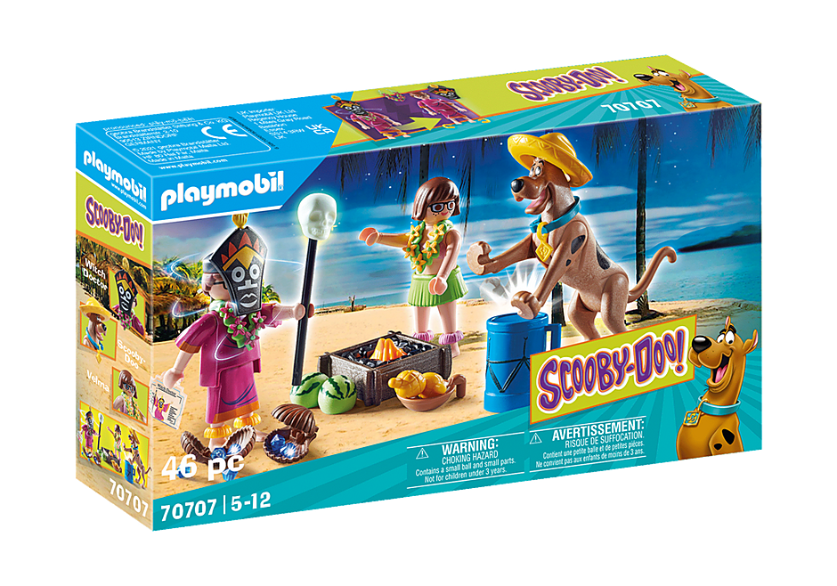Playmobil 70707 - SCOOBY-DOO! Adventure with the Witch Doctor - Box
