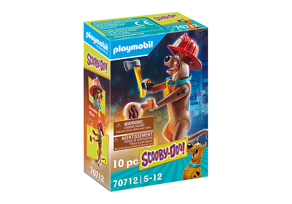Playmobil 70712 - SCOOBY-DOO! Firefighter Action Figure - Box