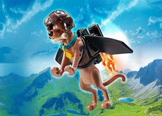 Playmobil - 70711 - SCOOBY-DOO! Pilot Action Figure