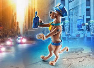 Playmobil - 70714 - SCOOBY-DOO! Police Action Figure