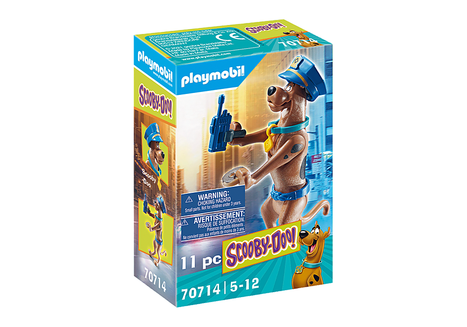 Playmobil 70714 - SCOOBY-DOO! Police Action Figure - Box