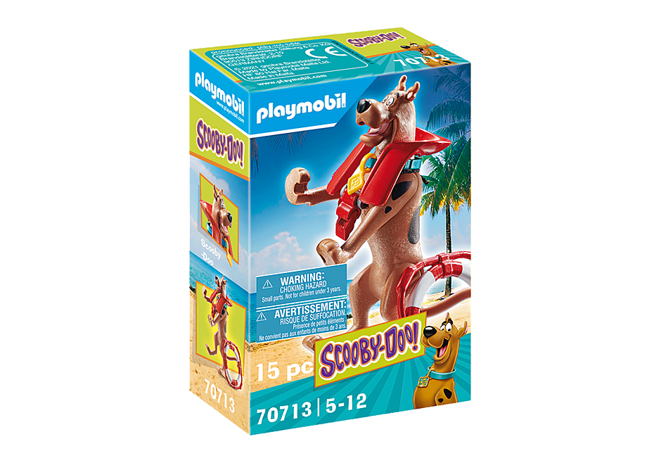 Playmobil 70713 - SCOOBY-DOO! Lifeguard Action Figure - Box