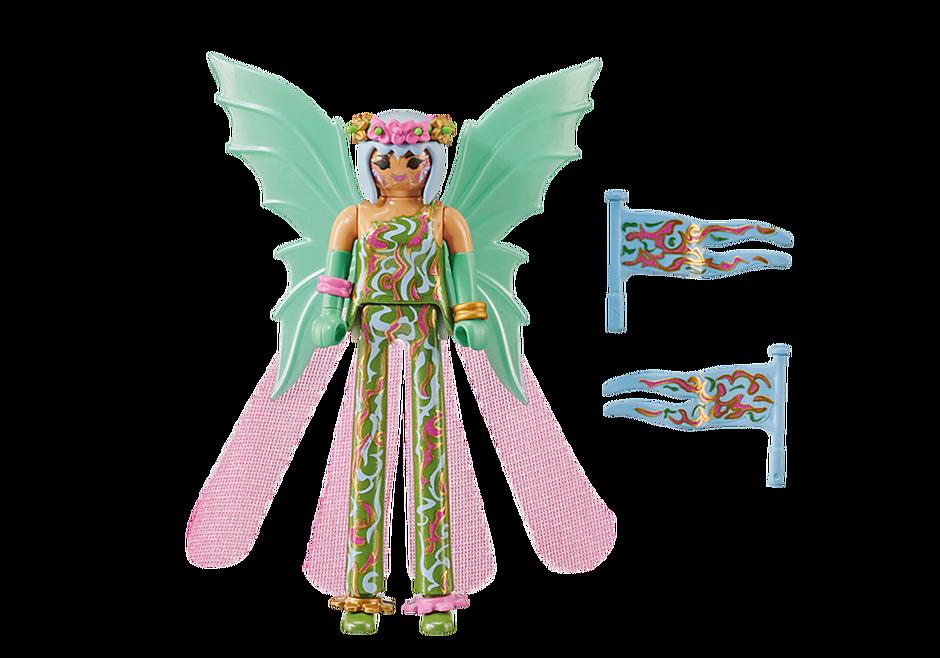 """Playmobil 70599 - Stilt Walker """"Fairy"""" - Back"""