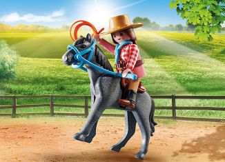 Playmobil - 70602 - Cowgirl