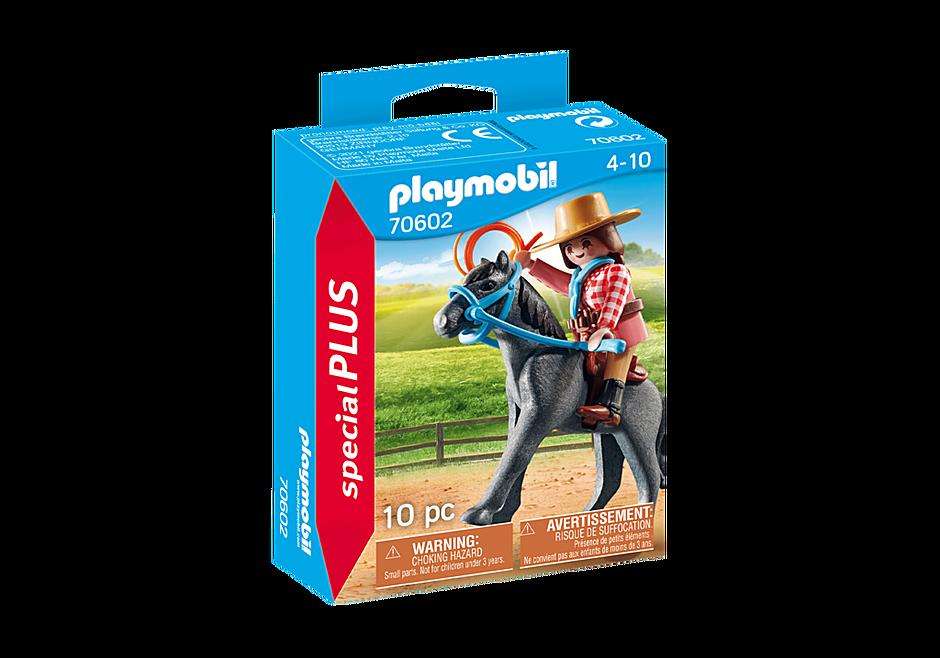 Playmobil 70602 - Cowgirl - Box