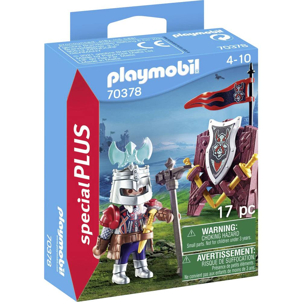 Playmobil 70378 - Dwarf knight - Box