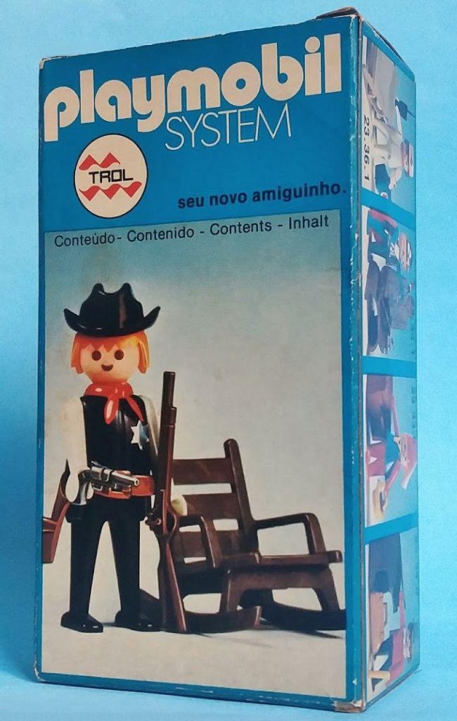 Playmobil 23.34.1v1-trol - Sheriff - Box