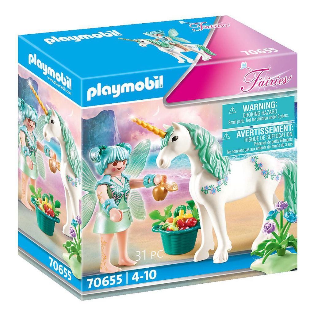 Playmobil 70655 - Unicorn with feeding fairy - Box