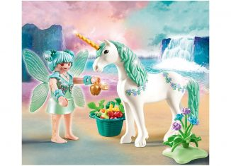 Playmobil - 70655 - Unicorn with feeding fairy