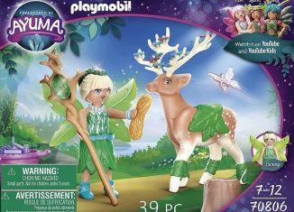 Playmobil - 70806 - Adventures of Ayuma: Carmy with spirit animal