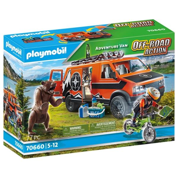 Playmobil 70660-usa - Adventure Van - Box