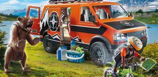 Playmobil - 70660-usa - Adventure Van