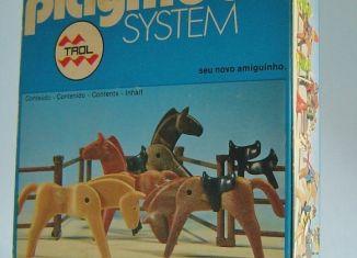 Playmobil - 23.27.0-trol - Caballos