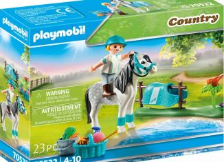 Playmobil - 70522 - Collector Pony - Classic