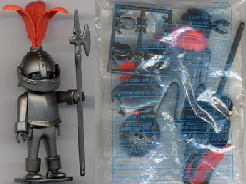 Playmobil 7104v2 - Medieval Knight - Back