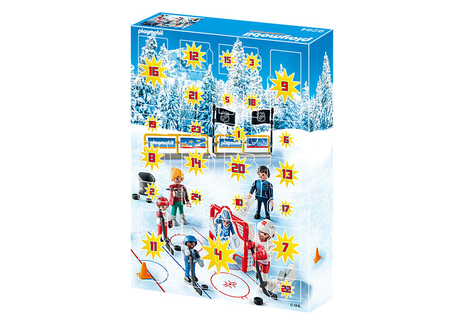 Playmobil 9294-usa - NHL Advent Calender Road to the Stanley Cup - Box