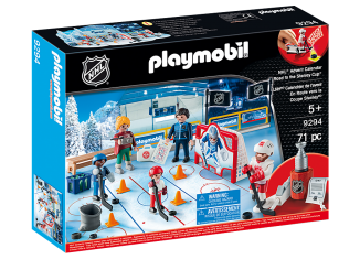 Playmobil - 9294-usa - NHL Advent Calender Road to the Stanley Cup
