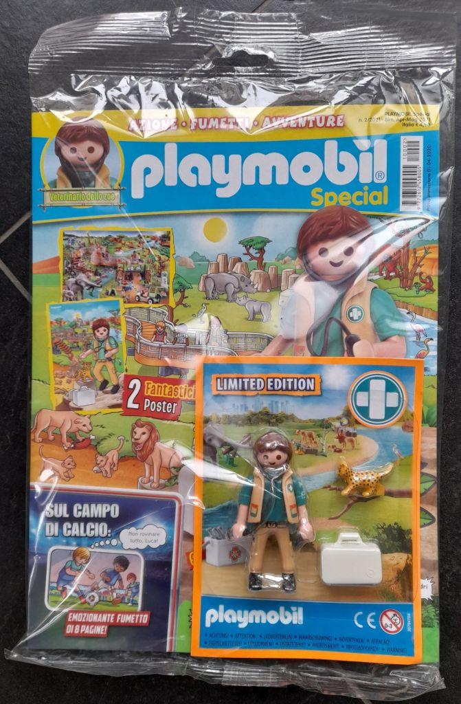 Playmobil N/A-ita - Playmobil Magazine Italy 3-2020 - Box