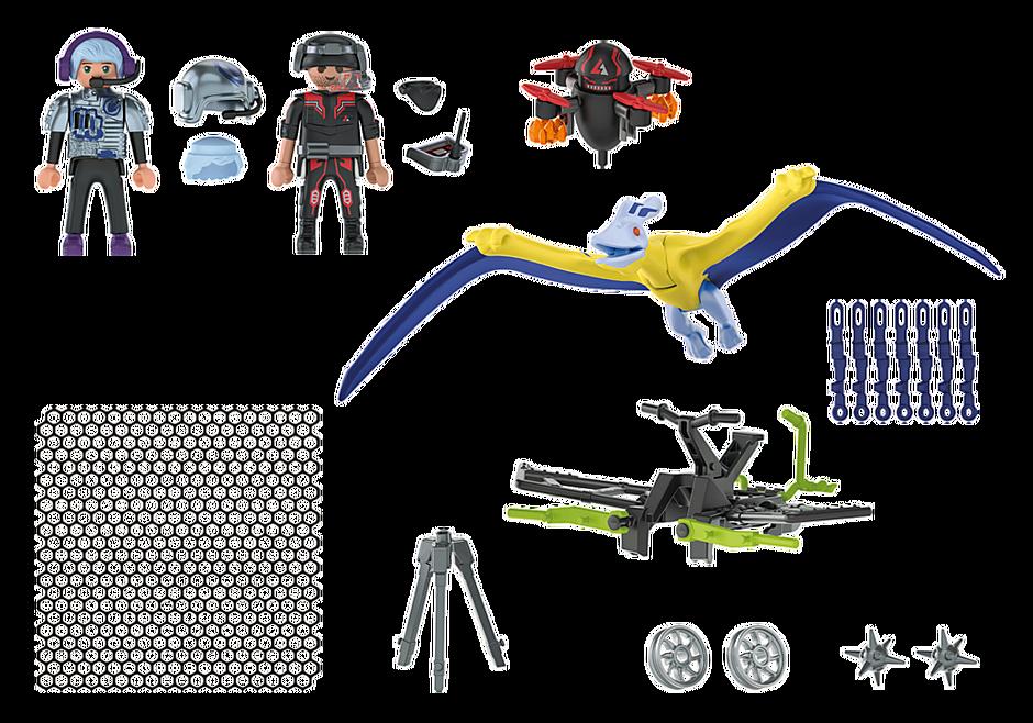 Playmobil 70628 - Dino Rise Pteranodon: Drone Strike - Back
