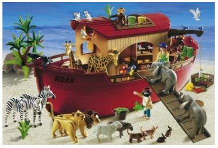 Playmobil 55396 - Puzzle Noah's Ark - Box