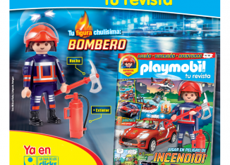 Playmobil - R052-30795004 BOMBERO-esp - FIREMAN