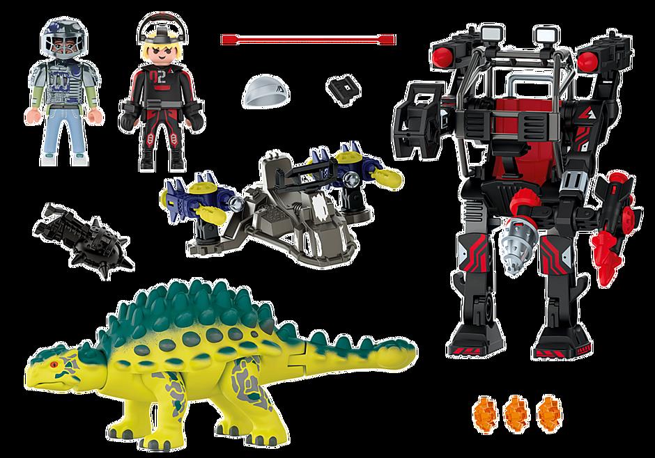 Playmobil 70626 - Dino Rise Saichania: Invasion of the Robot - Back