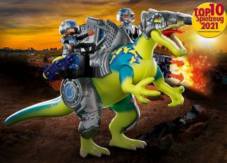 Playmobil - 70625 - Dino Rise Spinosaurus: Double Defense Power