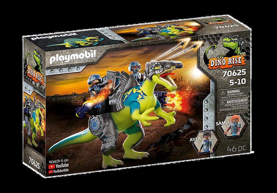Playmobil 70625 - Dino Rise Spinosaurus: Double Defense Power - Box