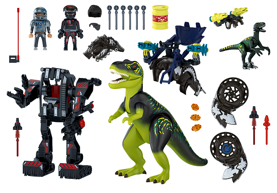 Playmobil 70624 - Dino Rise T-Rex: Battle of the Giants - Back