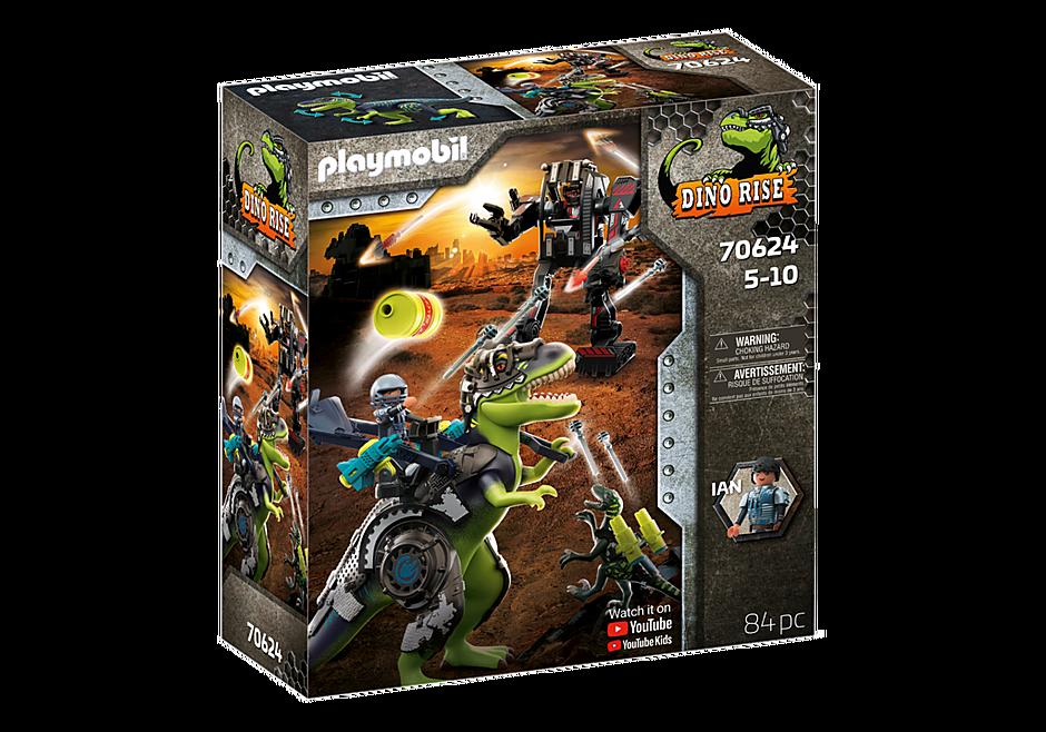 Playmobil 70624 - Dino Rise T-Rex: Battle of the Giants - Box
