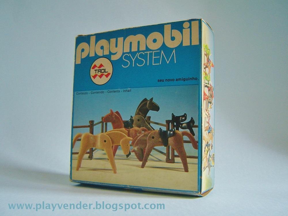 Playmobil 23.27.0-trol - Caballos - Caja