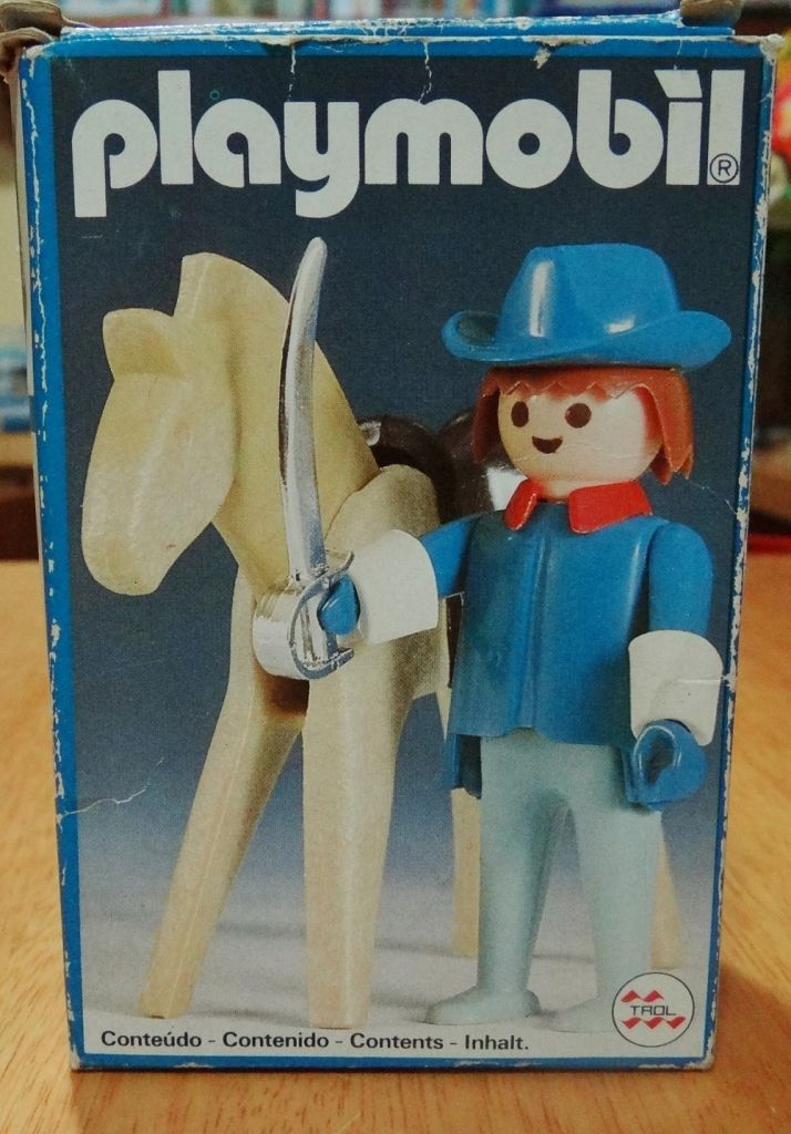 Playmobil 23.35.3 - V2-trol - Union Soldier with Horse - Box
