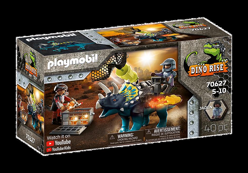 Playmobil 70627 - Dino Rise Triceratops: Battle for the Legendary Stones - Box