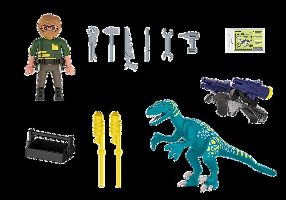 Playmobil 70629 - Dino Rise Deinonychus: Ready for Battle - Back