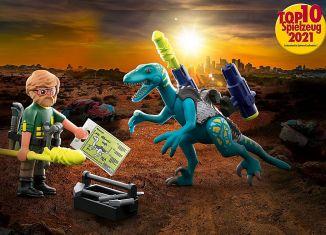 Playmobil - 70629 - Dino Rise Deinonychus: Ready for Battle