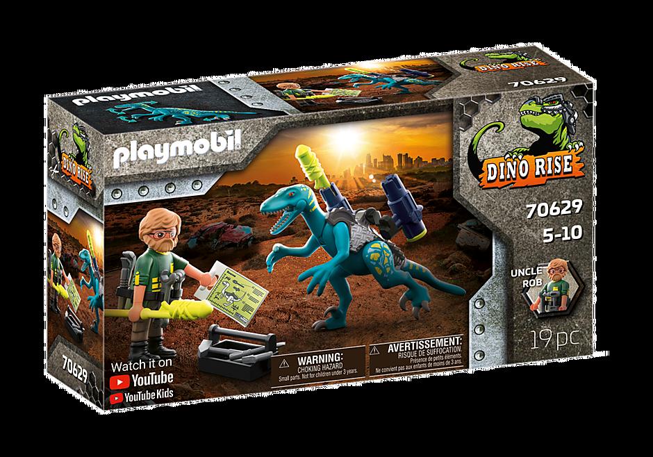 Playmobil 70629 - Dino Rise Deinonychus: Ready for Battle - Box
