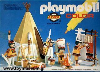 Playmobil - 3621-lyr - Indians / Teepee