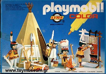 Playmobil 3621-lyr - Indians / Teepee - Box